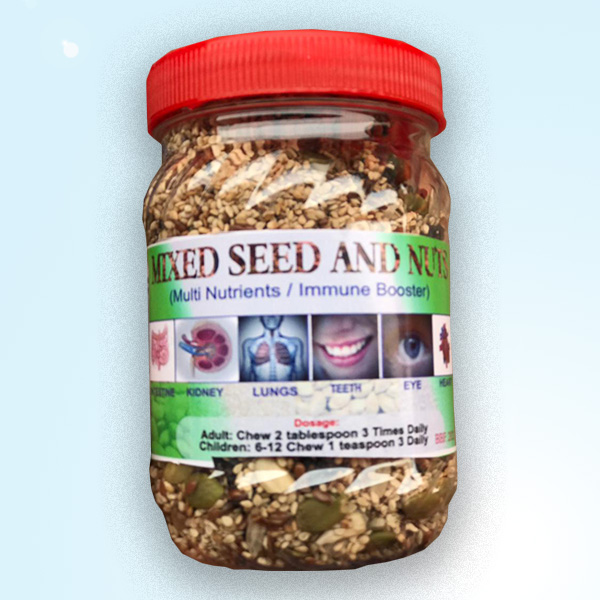 Mixed Seeds and nuts_the lifestyle unit